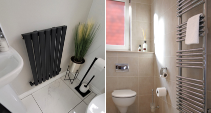 What is the best radiator for a bathroom?