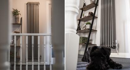 Hallway Heating & The Vertical Radiator