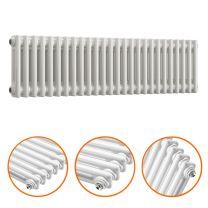 300 x 1193mm White Horizontal Traditional 2 Column Radiator
